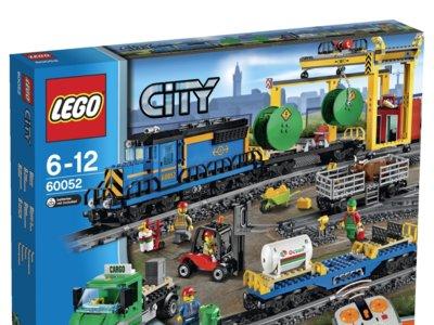 Tren de mercancías LEGO City por 147 euros en Amazon