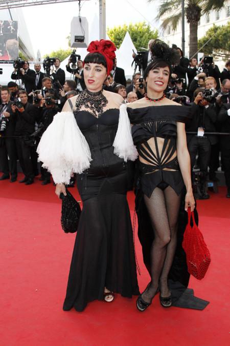 Rossy de Palma y Blanca Li  Festival de Cannes peor vestidas