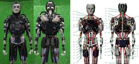 Este robot también puede sudar para refrigerarse mientras hace ejercicio