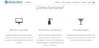 GetYourHero, una nueva alternativa a los servicios online de limpieza del hogar