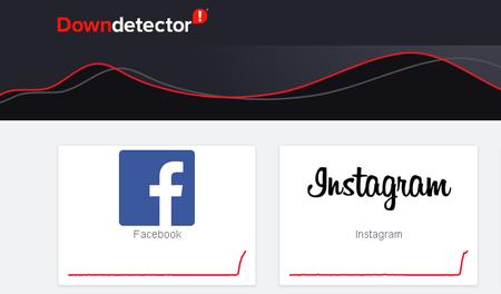 Fallas en Facebook e Instagram en México