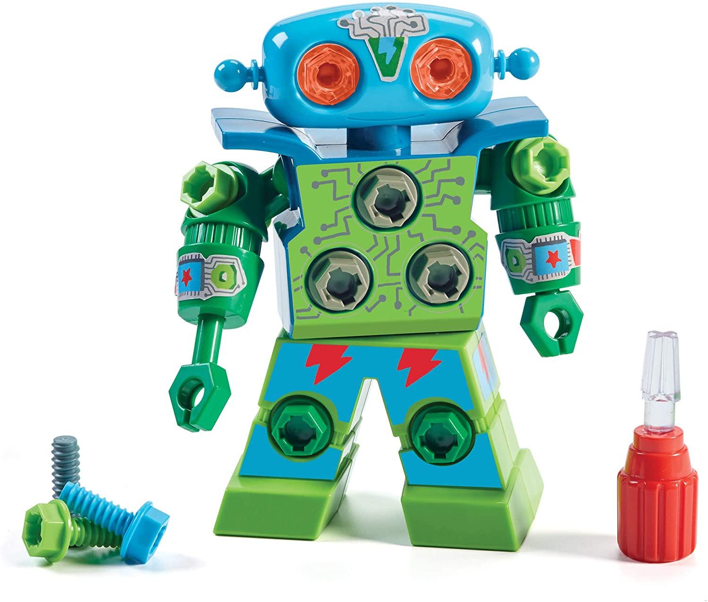 Design & Drill Robot, juguete para niños en edad preescolar