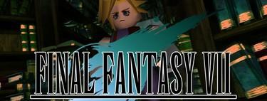 Este mod para Final Fantasy VII multiplica su resolución por cuatro gracias a las redes neuronales. Y ya puedes descargarlo gratis