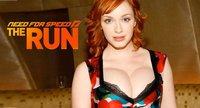 Christina Hendricks, la voluptuosa pelirroja de Mad Men, también en 'Need for Speed: The Run'