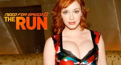Christina Hendricks, la voluptuosa pelirroja de Mad Men, también en 'Need for Speed: The Run'