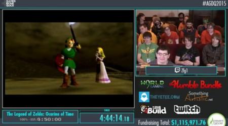 Agdq 2015 Zelda
