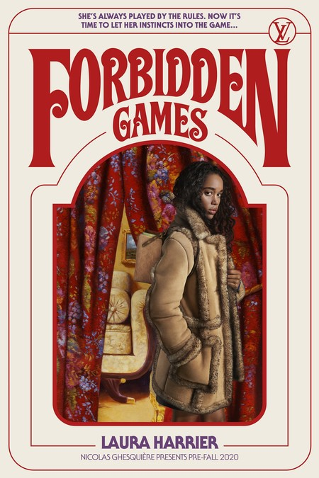 Laura Harrier Forbidden Games Louis Vuitton