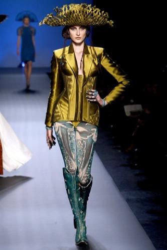 Jean Paul Gaultier Alta Costura Primavera-Verano 2010. Futuro