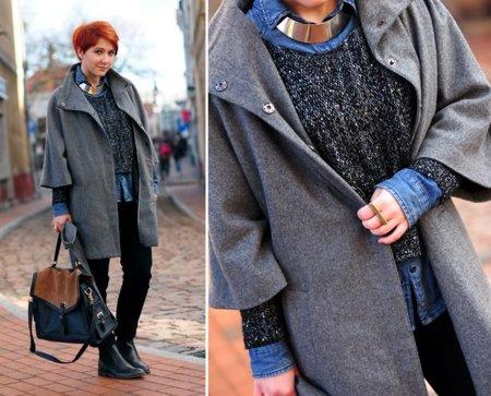 Camisa abrigo moda