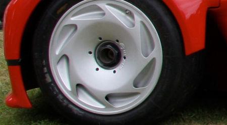 Peugeot Proxima 1986, rueda
