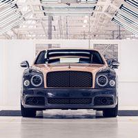 El último Bentley Mulsanne de la historia sale de fabrica para decir adiós al buque insignia de la marca británica