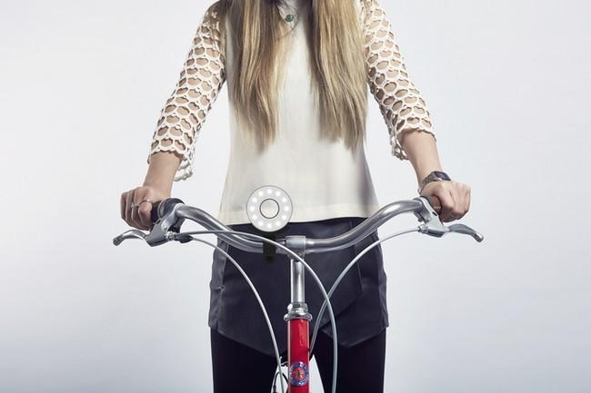 Double O, un rosco que busca simplificar la iluminación para bicicletas