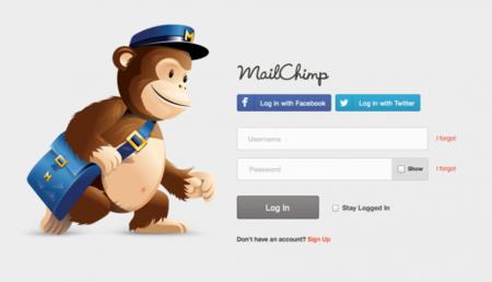Social Login Mailchimp