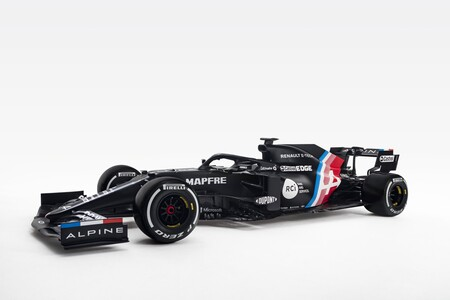 Fernando Alonso ya conoce su nuevo coche: Así es el Alpine A521 con el que la marca entra en la Fórmula 1