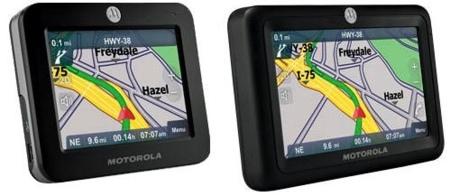 Motorola Motonav TN20 y TN30, navegadores GPS