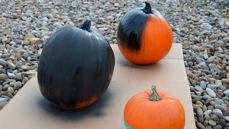 Decora tus calabazas de Halloween de forma diferente y moderna con esta genial idea
