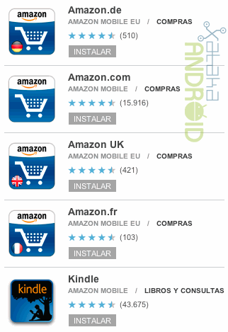 Amazon Android Market