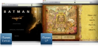 Apple libera el formato de iTunes LP