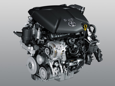 Motor Toyota 115D