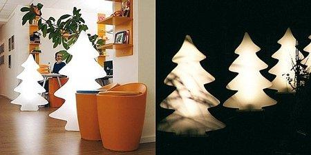 Floor Lamp Lumenio, un árbol de Navidad luminoso