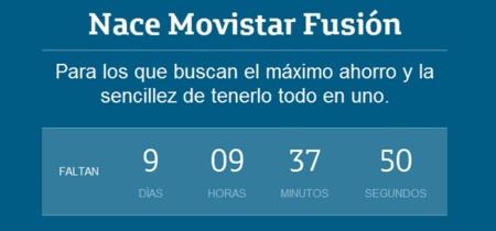 Comienza la cuenta atrás para el lanzamiento de Movistar Fusión