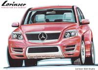 Lorinser tiene un Mercedes GLK en la cocina