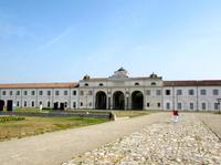 La calzada romana y el Parque Arqueológico Novi Ark en Módena