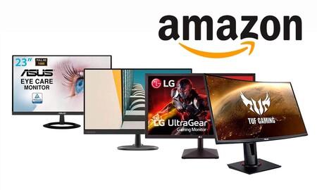 Amazon adelanta el Black Friday para quienes estén buscando un monitor para su PC: 6  modelos de ASUS, BenQ, MSI o Samsung para jugar o trabajar a precios rebajados