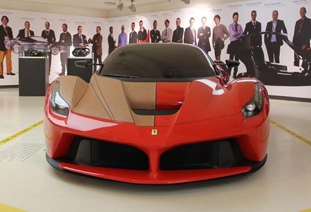 Ferrari F150, prototipo de LaFerrari