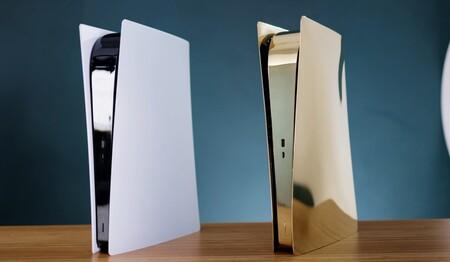 Esta PS5 dorada es la más elegante y brillante de todas las que hemos visto hasta ahora