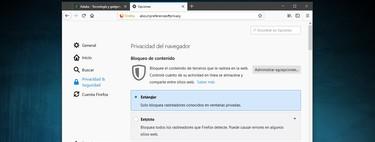 Cómo configurar la nueva protección contra trackers y cookies de Firefox