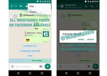 Todo Lo Que Está Por Llegar A Whatsapp Borrado De Mensajes