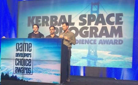 Kerbal Space Program obtiene el Audience Award de los Game Developers Choice Awards