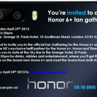 Honor empieza a enviar invitaciones para un evento el 29 de abril, Honor 6+ a la vista