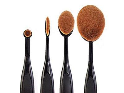 Kit de brochas de maquillaje por sólo 0,20 euros en Amazon