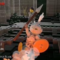 ¿Cómo sería Dark Souls en versión LEGO? Esta maravillosa recreación muestra el resultado