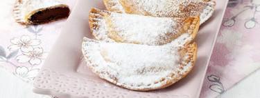 Cómo hacer empanadillas de crema de cacao y avellanas, receta fácil