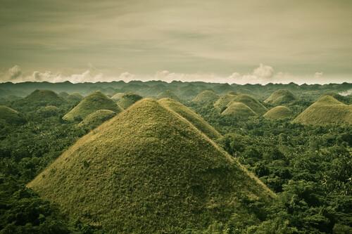 El misterio de las colinas de Chocolate en Filipinas