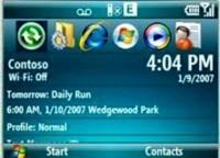 Demo Windows Mobile 6 en flash