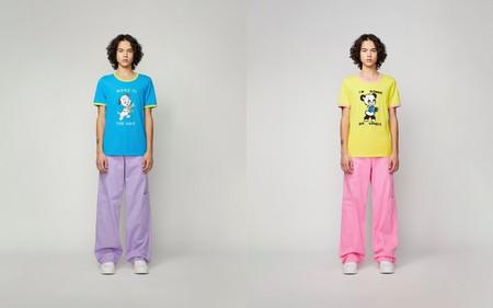 Desues De Dos Anos Marc Jacobs Retoma Su Linea Masculina Con Una Colorida Propuesta De Aires Pop