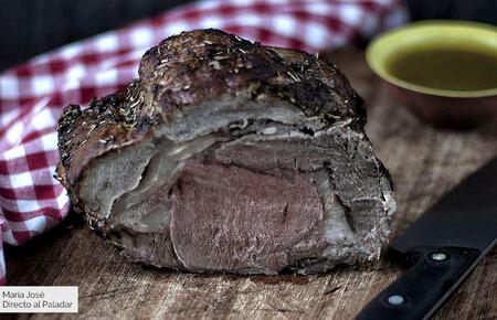 Rosbif o roast beef, receta tradicional de asado para amantes de la carne