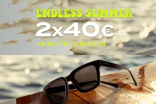Chollo Hawkers: dos gafas de sol por 40 euros y envío gratis con la promoción Endless Summer