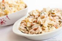 Receta de ensaladilla de pasta con variantes