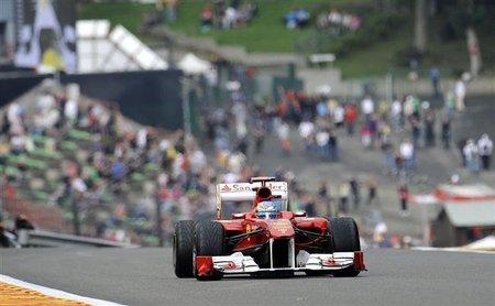 GP de Bélgica F1 2011: Fernando Alonso octavo y con una jornada complicada mañana