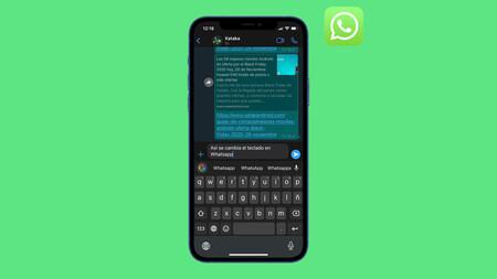 Cómo cambiar el teclado de WhatsApp en iPhone y Android