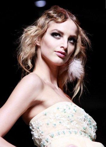 Maquillaje de pasarela: looks bohemios y románticos por Christian Dior en la Paris Fashion Week Otoño-Invierno 2011/2012