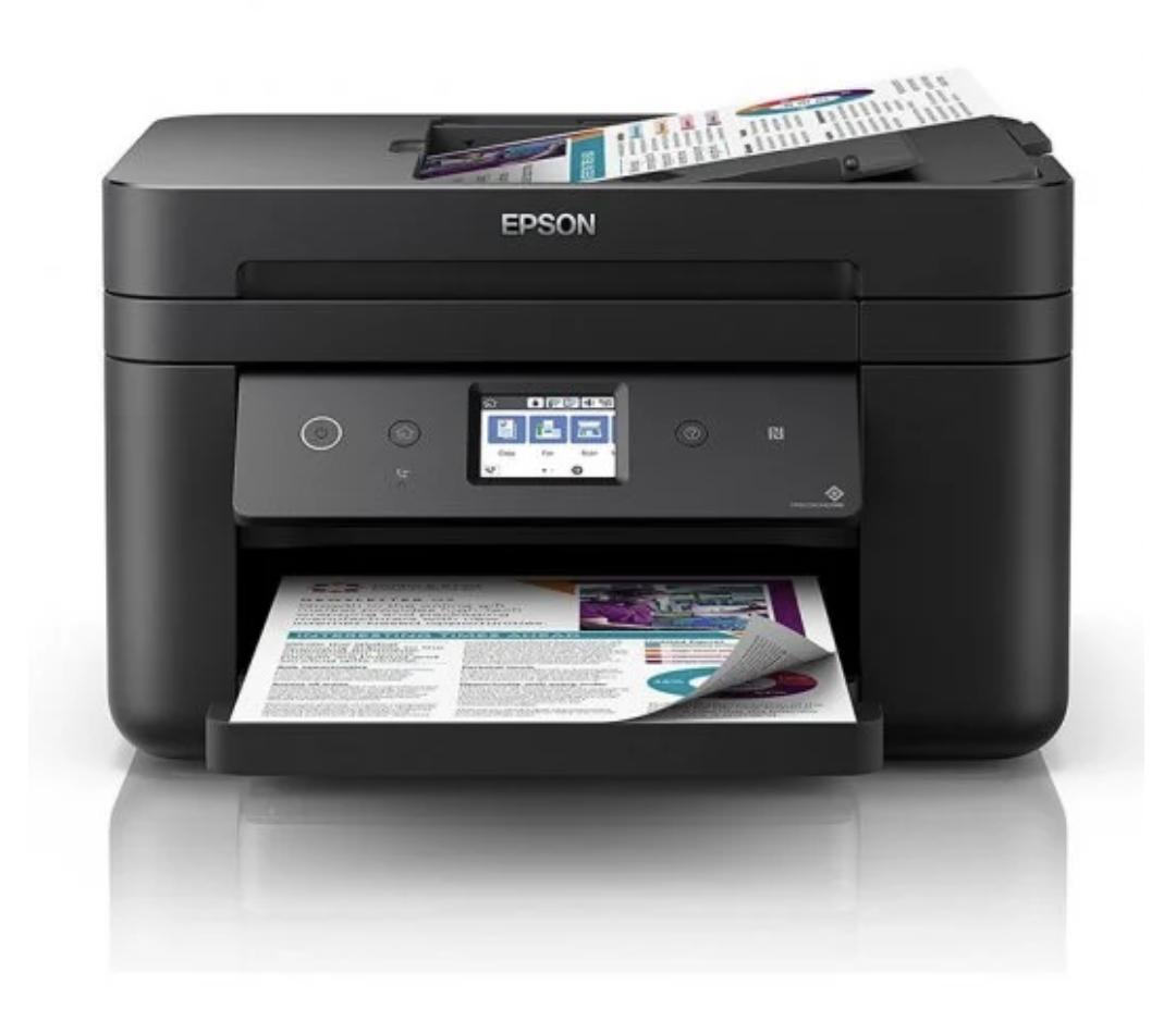 Epson Workforce WF 2860DWF Multifuncion Color Wifi Fax Duplex