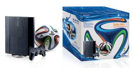 Sony prepara dos bundles de PS3 para México edición Copa Mundial de la FIFA 2014