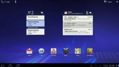 Google presenta oficialmente los detalles de Android 3.0 Honeycomb