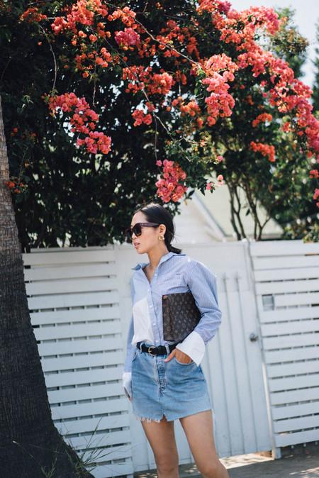 Minifalda Denim Combinarla Verano 04